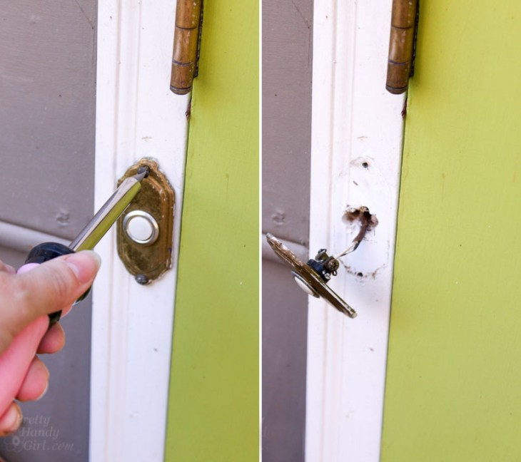 remove old doorbell
