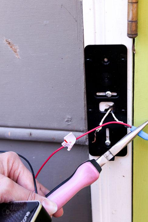 Crimp wires in weatherproof connectors