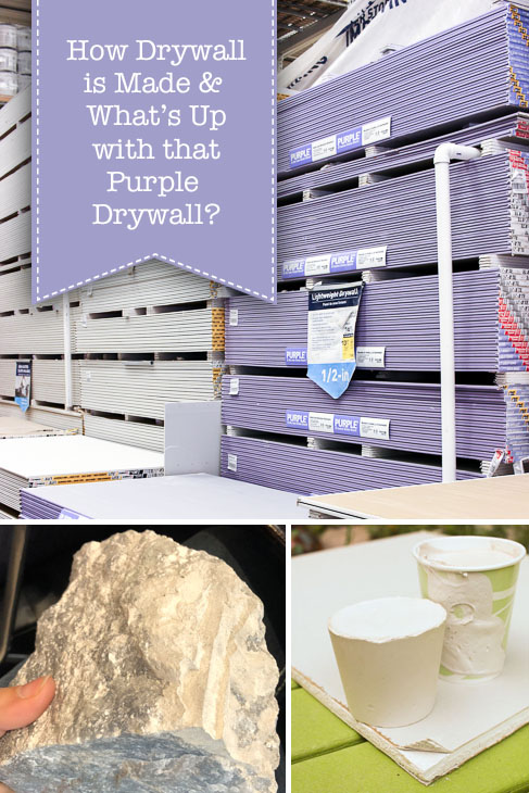 How is Drywall Made and What is Purple Drywall?