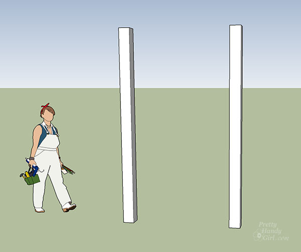 set fence posts