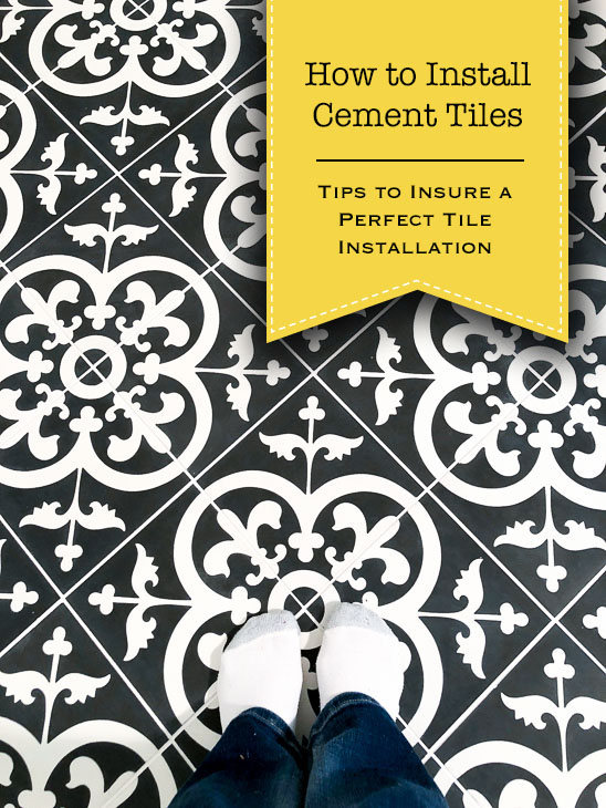 How to Install Cement Tiles and Achieve Professional Results