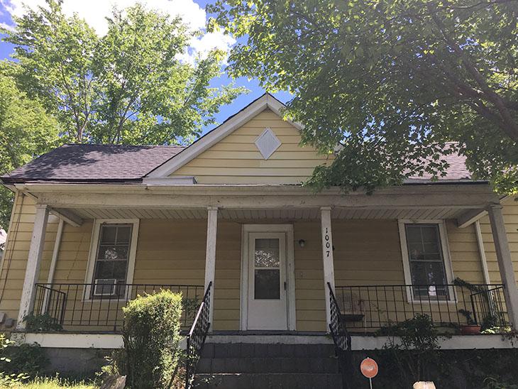 1900 triple A frame house