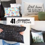 41 decorative DIY pillows - Social Media Image