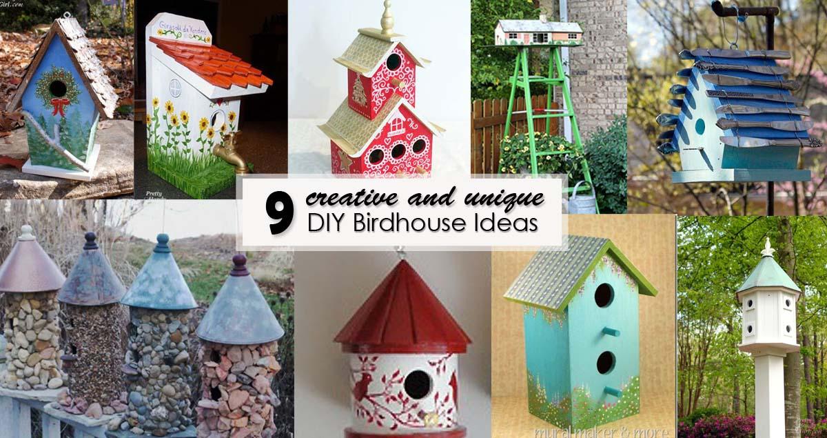 Creative And Unique Diy Birdhouses Pretty Handy Girl