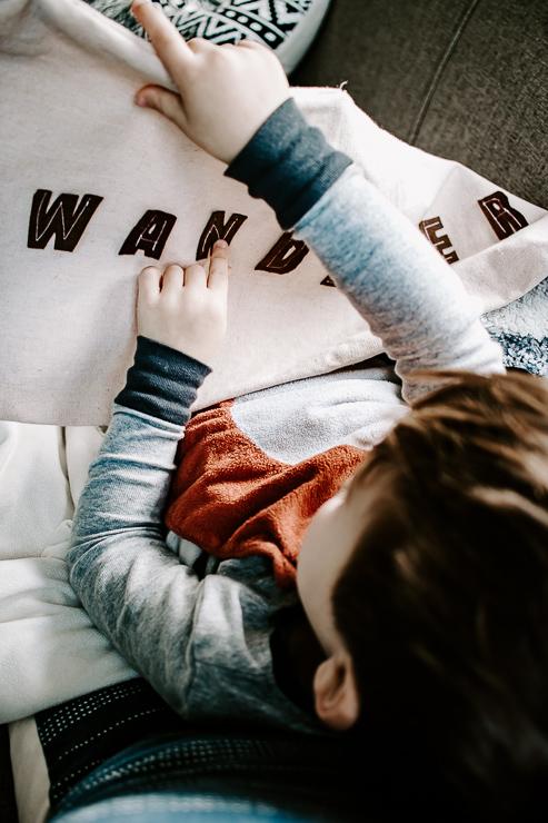 Kids Love these DIY Felt Letter Pillow Covers