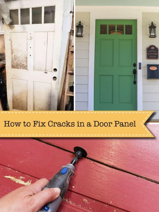 How to Fix Cracks in Door Panels - An Easy Repair