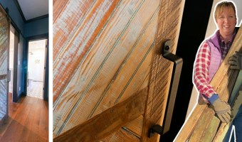 How to Build Reclaimed Wood Barn Door