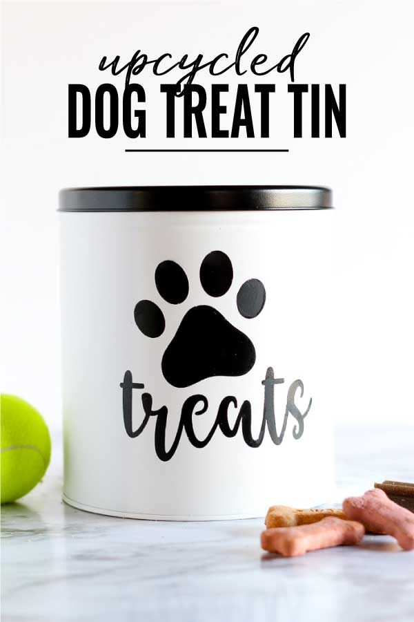 Diy Dog Treat Container From A Popcorn Tin Pretty Handy Girl