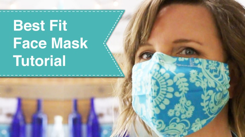 Best Fit Face Mask Tutorial Pretty Handy Girl