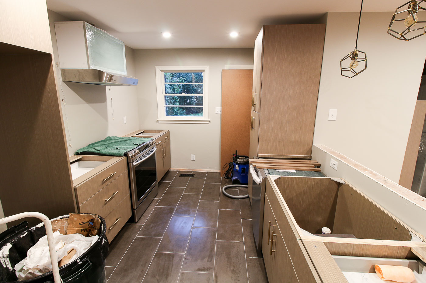 Millie's Remodel: Installing the Kitchen Cabinets - Pretty ...