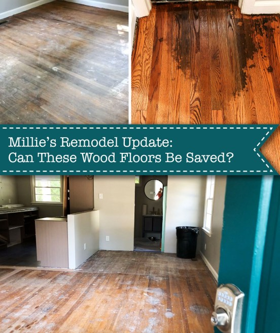 can these wood floors be saved?