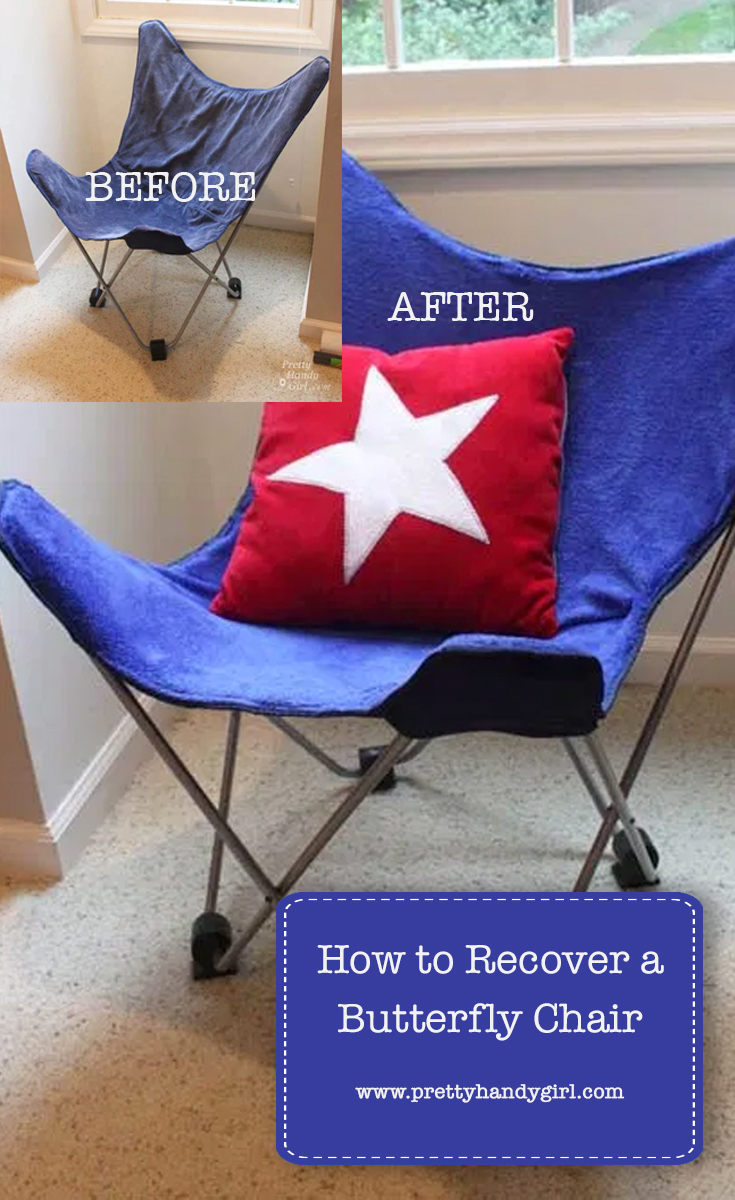 How to Recover a Butterfly Chair