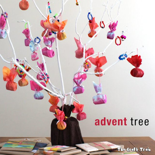 DIY Treat Tree