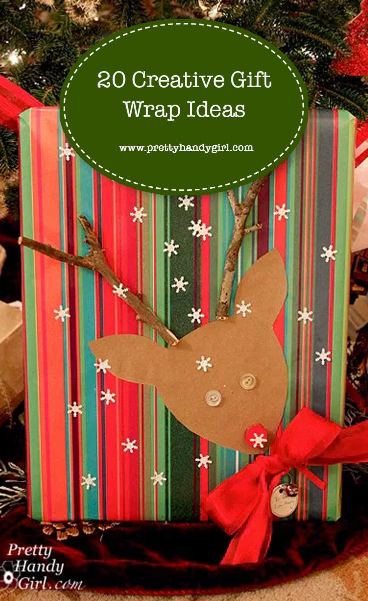 20 Creative Gift Wrap Ideas | Pretty Handy Girl