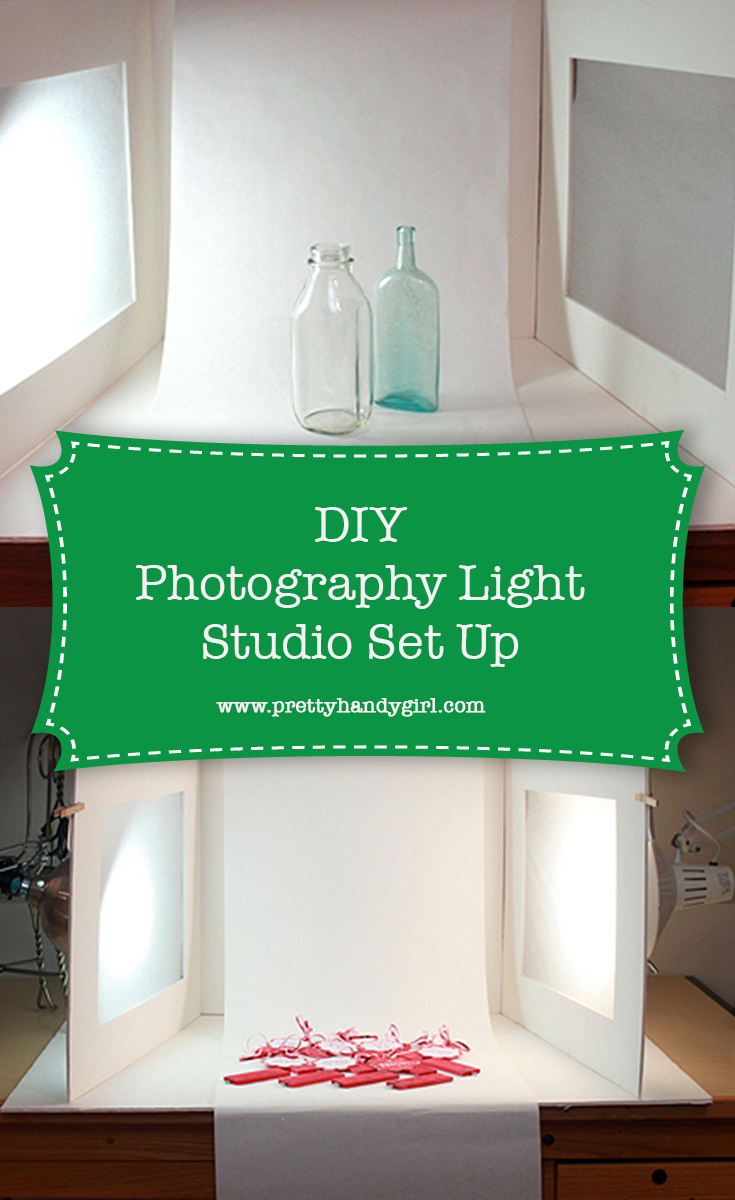 DIY Photography Light Studio Set Up | Pretty Handy Girl
