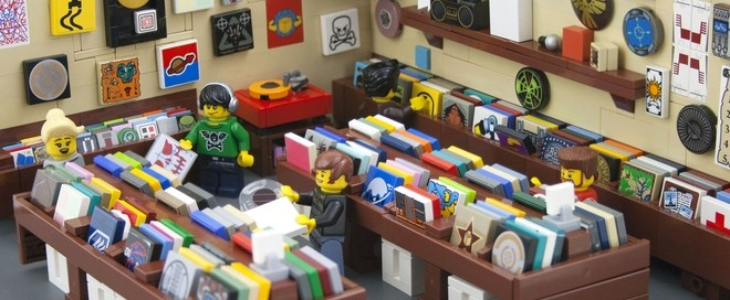 Lego Record Store