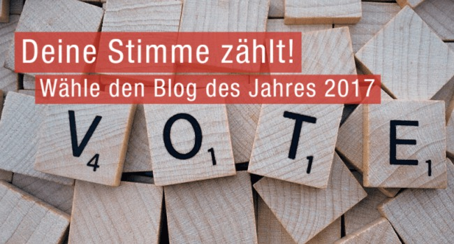 Blog Award 2017
