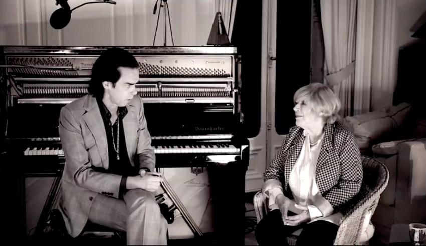 Nick Cave und Marianne Faitfull
