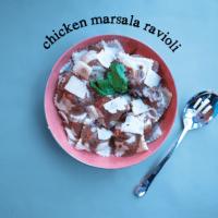Chicken Marsala Ravioli