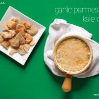 Garlic Parmesan Kale Dip