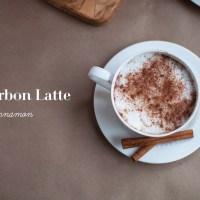 Bourbon Latte with Cinnamon