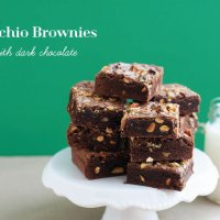 Pistachio Brownies Recipe