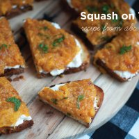 """ABC Kitchen's """"Squash on Toast"""""""