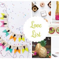 Love List 8/12/15: Birthday Ideas