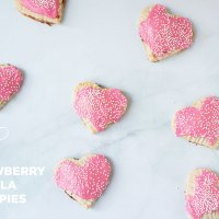 Strawberry + Nutella Hand Pies