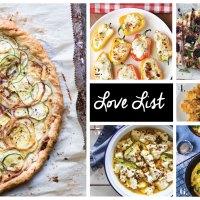 Love List 8/29/18: Goat Cheese Recipes