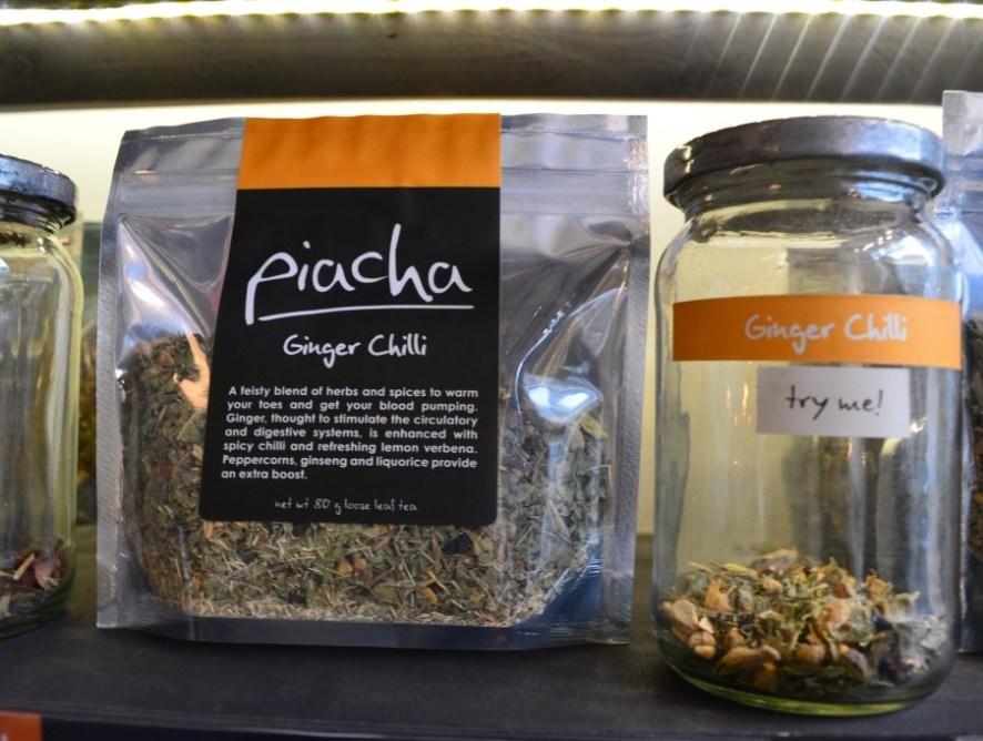 Tea tasting at Piacha Tea Bar - Islington