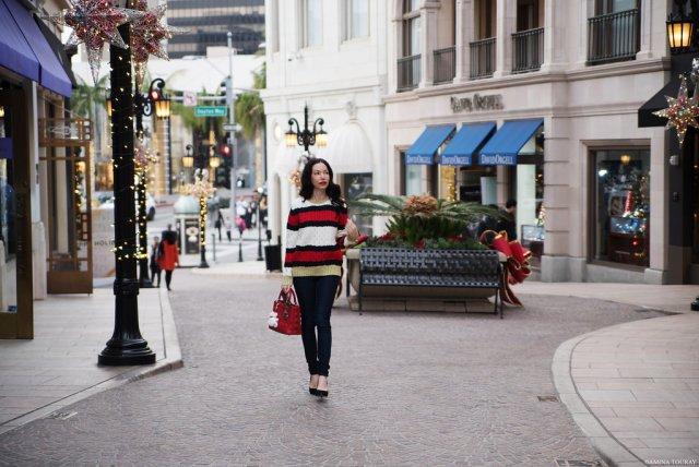 Beverly Hills Winter Wonderland Storets Sweater