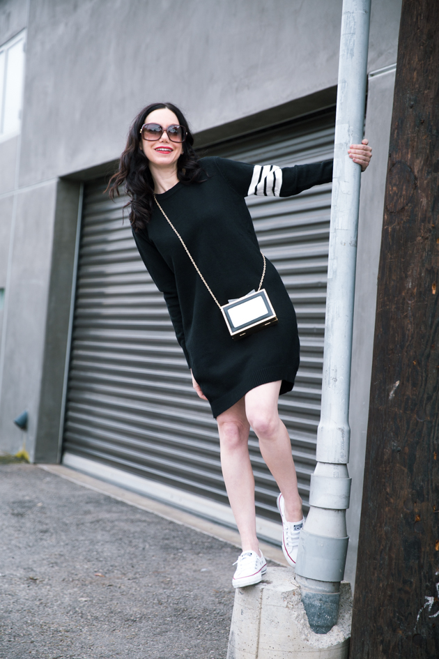 Jumping into 2017: StyleWe striped sweater dress