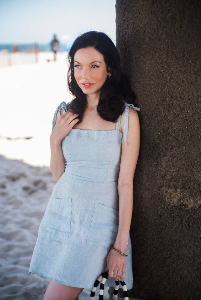 Pretty Little Shoppers Blog - Reformation Linen Dress