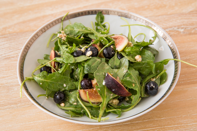 Blueberry, Fig and Goat Cheese Salad - Recipe by Pretty Little Shoppers Blog