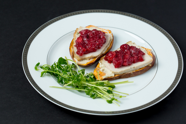Turkey and Cranberry Sweet Potato Toast - Pretty Little Shoppers Blog