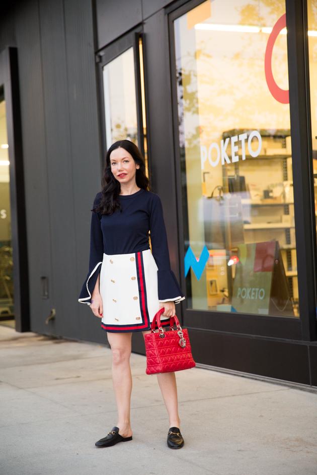 Storets Ruffled Sleeve Top - Pretty Little Shoppers Blog