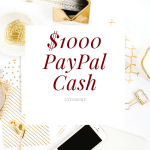 $1000 PayPal Cash Giveaway