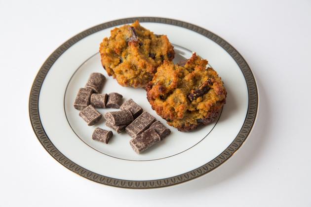 Gluten-Free Chocolate Chip Pumpkin Muffins