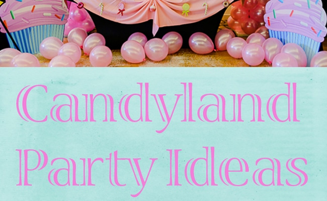 Candyland Birthday Party Ideas Pretty My Party