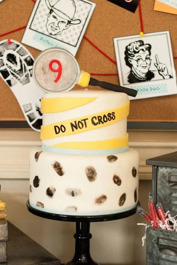 Vintage Detective Birthday Party