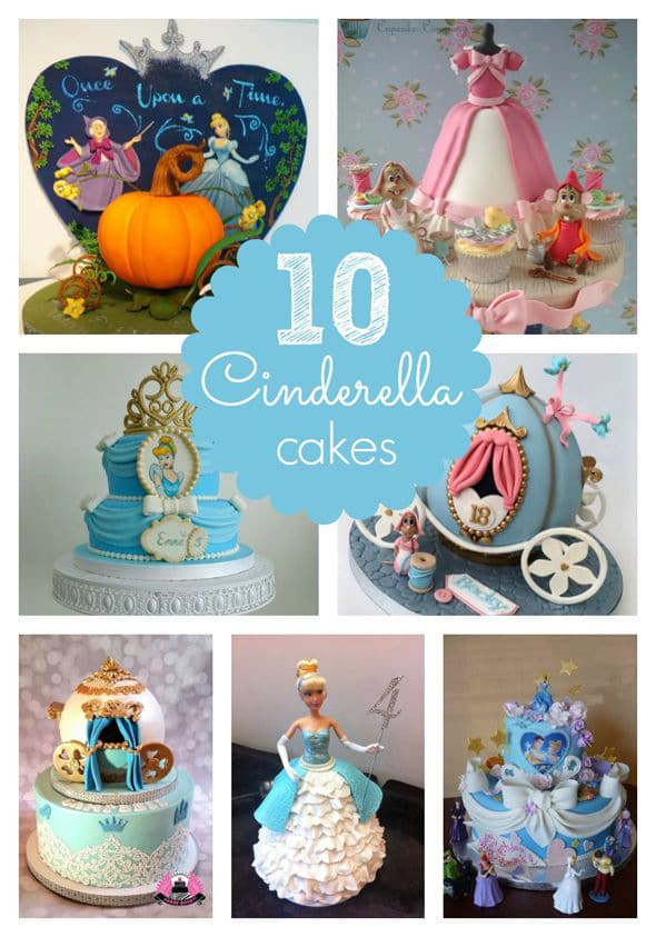 10 Amazing Cinderella Birthday Cakes Pretty My Party