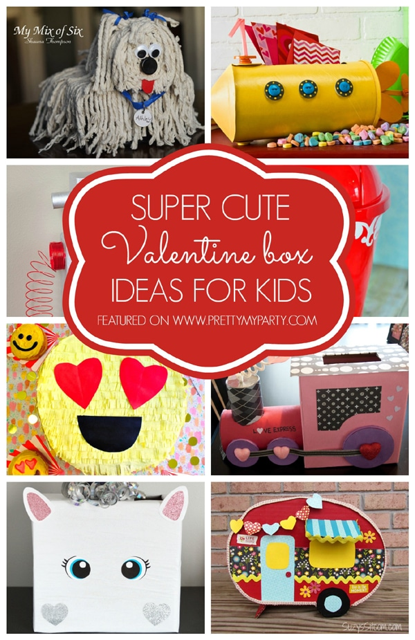 29 Adorable DIY Valentine Box Ideas Pretty My Party
