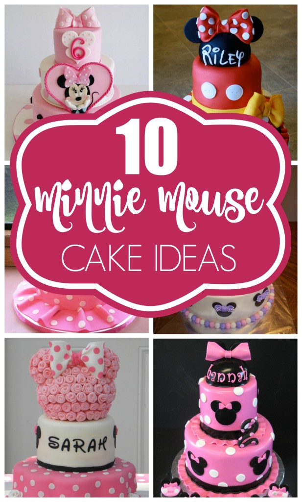10 Cutest Minnie Mouse Cakes Pretty My Party