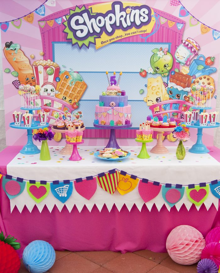21 Adorable Shopkins Party Ideas Pretty My Party Party Ideas