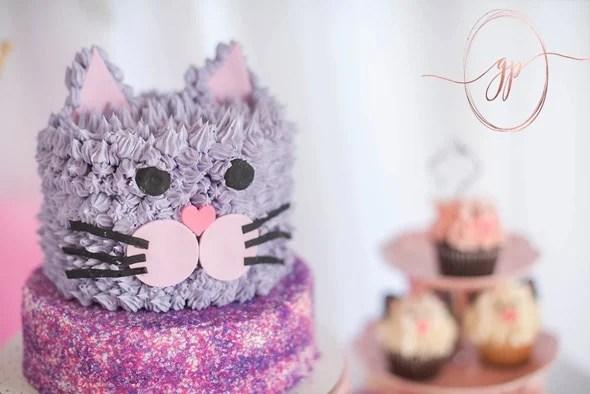 Cat Themed Birthday Party