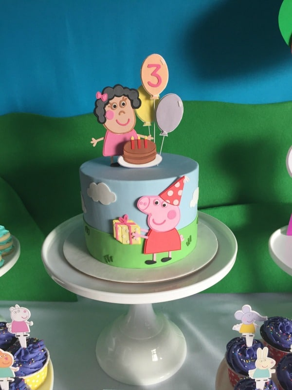 Peppa Pig Birthday Party Pretty My Party Party Ideas