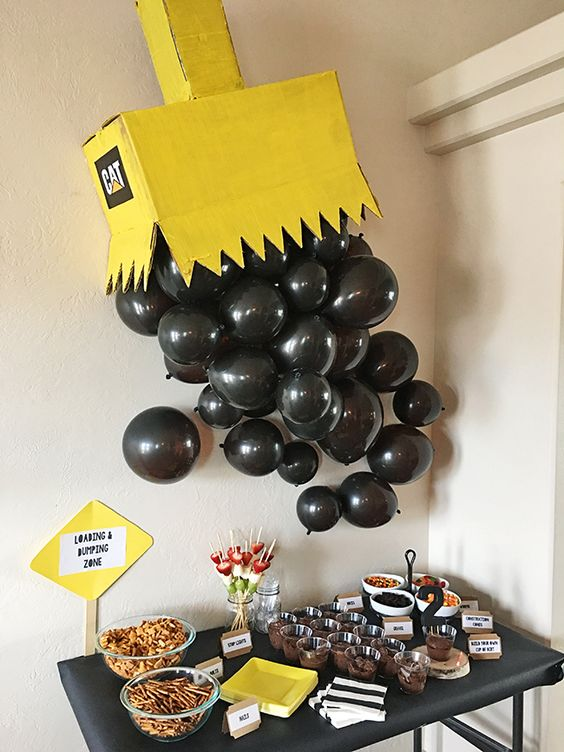 21 Awesome Construction Birthday Party Ideas Pretty My Party