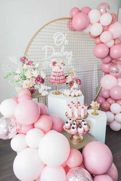Pretty Pink And Gold 1st Birthday Party