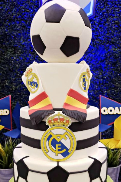 Fun Soccer Themed Birthday Party Pretty My Party Party Ideas